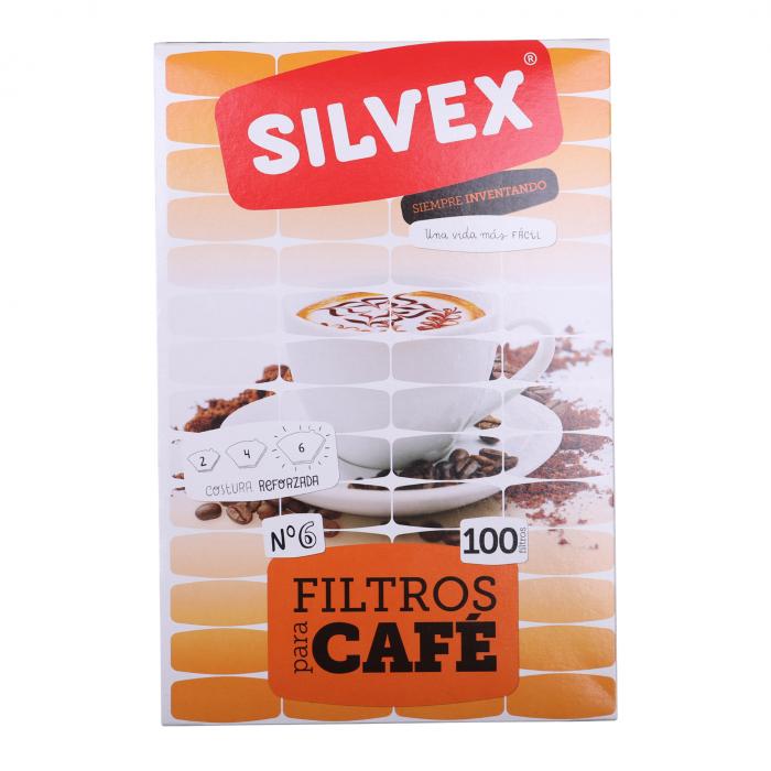 Filtros café Nº 6 (100 uni)