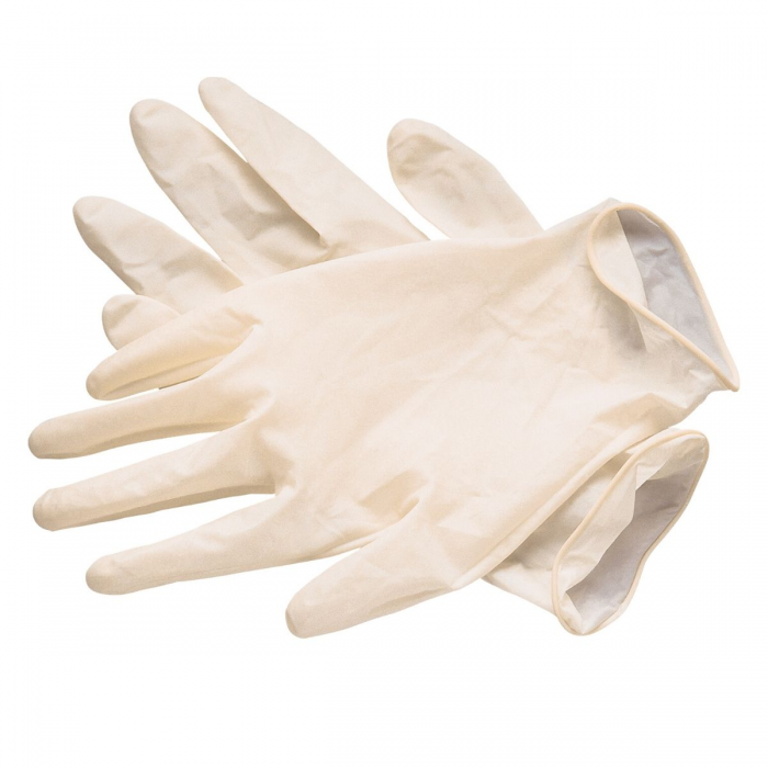 Latex Gloves S (100 PCS)