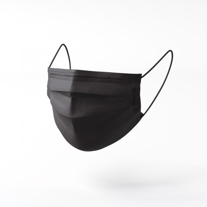 Máscaras de Proteção Descartáveis Freedom Black (10 UNI)
