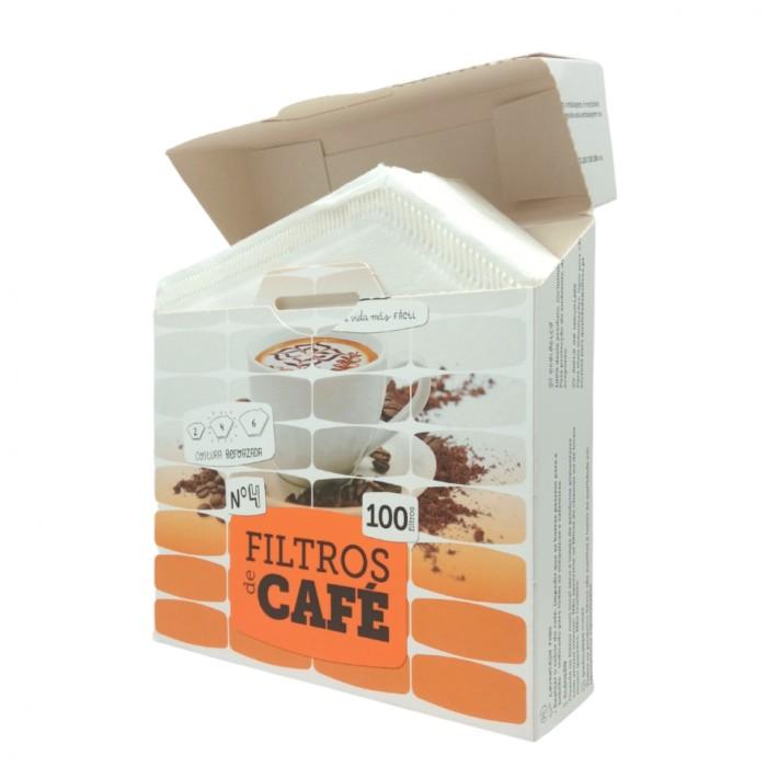 Filtros para Café Tamaño 4 (100 UNI)